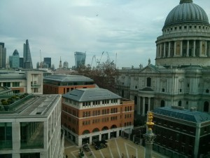 View from the offices next to St Paul's... not bad!