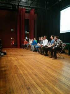 The student life Q+A at our Plymouth event