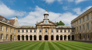 Emmanuel College Front Court - can't believe I was lucky enough to call this home!