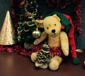 Merry Christmas and a Happy New Year from all of us in the Tutorial and Admissions Office, including our bear Bruce!